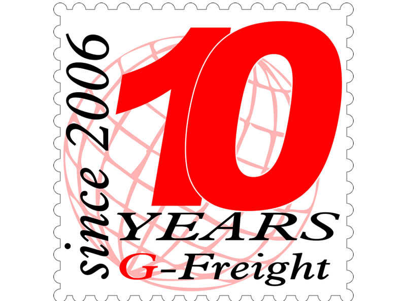 G-Freight -10 Anos
